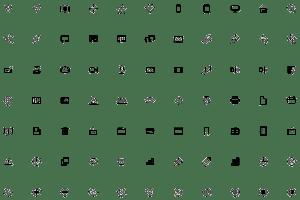 Exemple de sprite d'icônes